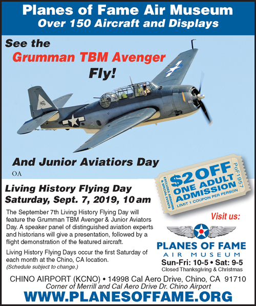 LHFD Admission Coupon | Planes of Fame Air Museum