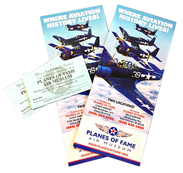 Ticket Donations | Planes of Fame Air Museum